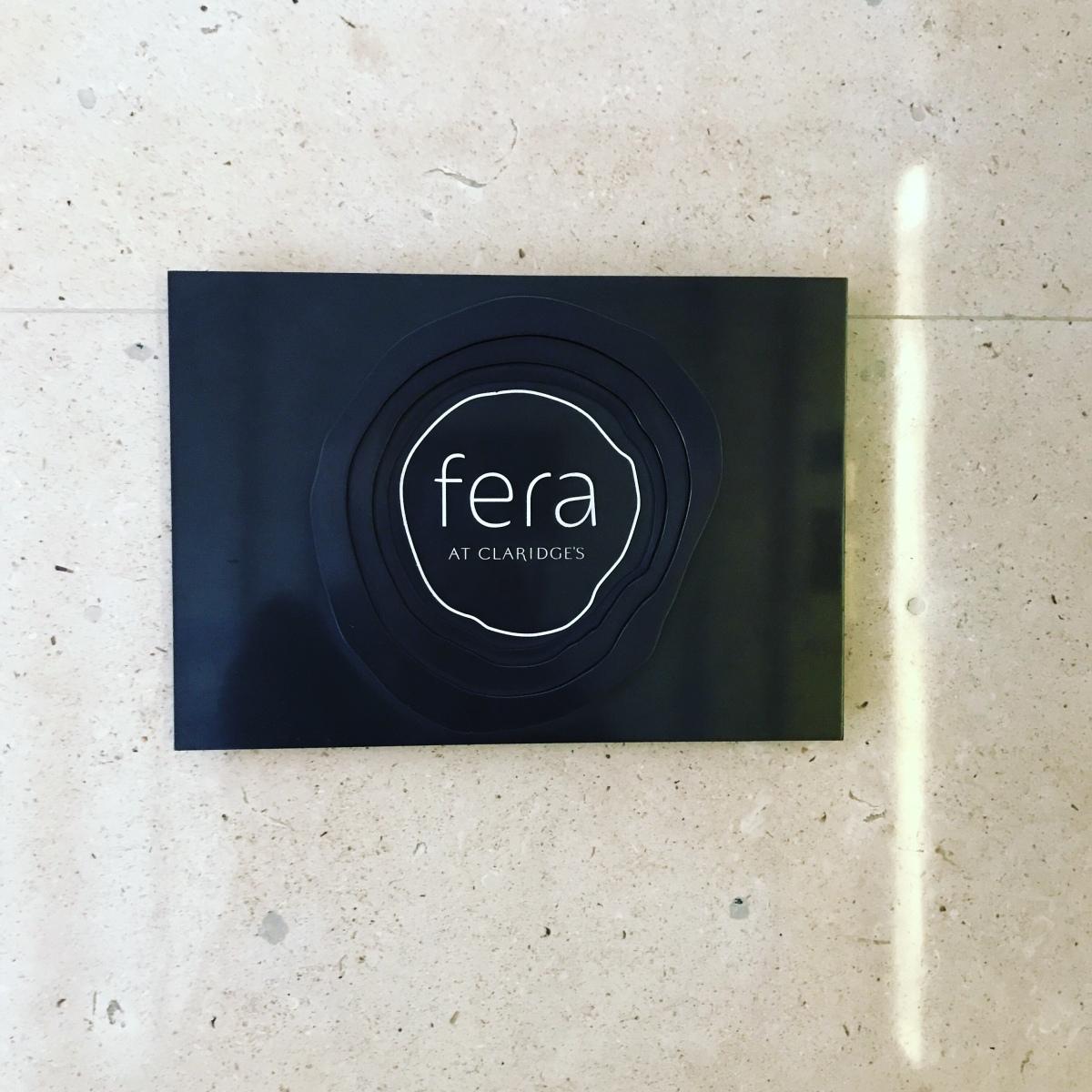 Restaurant review: Fera,London