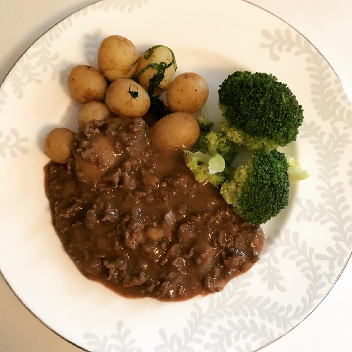 Murusoosi (mince beefsauce)