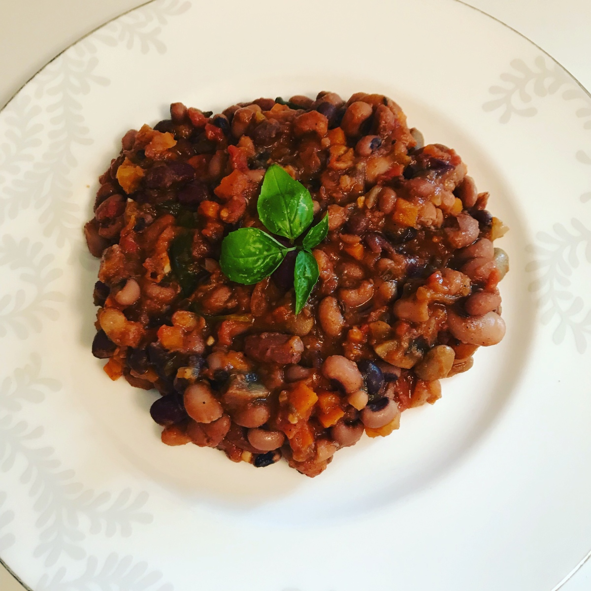 Mixed bean cassoulet